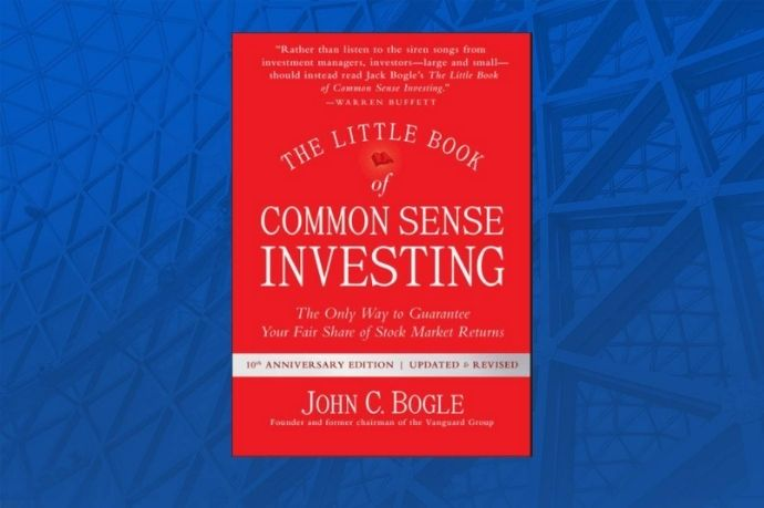 The Little Book of Common Sense Investing Hard back book cover
